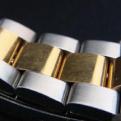 金製の時計のベルトのコマ