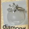 diamond買取しました! プラチナpt900リング縦爪ダイヤ0.51ct 買取! 横浜 戸塚駅東口買取店 ベンテン