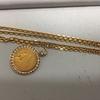 金のネックレス インディアンコイン ダイヤモンド 買取しました! 神奈川 横浜 戸塚 アピタ(ユニー)戸塚店 2F リサイクルショップ ベンテン