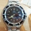 オメガ(OMEGA) シーマスタープロフェッショナル 黒 200M メンズ腕時計 買取致しました! ベンテン北鴻巣店