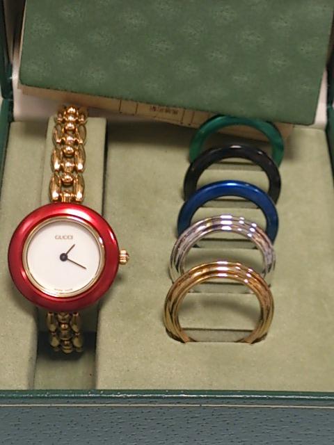 timeless design 9881a 11f0d グッチ11/12.2チェンジベゼルレディース時計買取しました!上尾 ...