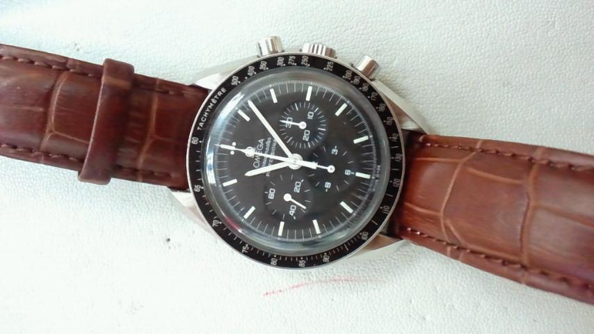factory price d5079 75626 オメガ(OMEGA)スピードマスター 革ベルト 買取致しました ...